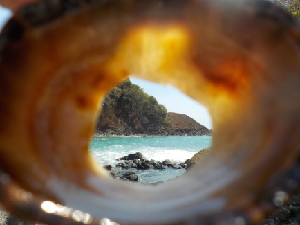 A barnacle view of Las Secas