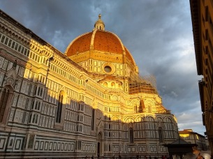 The Duomo at sunset