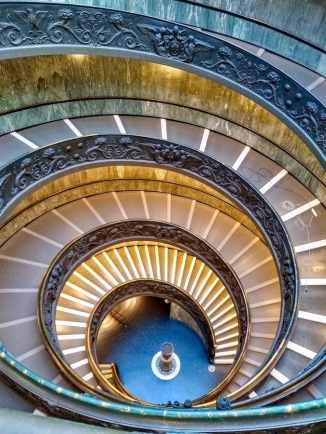 Momo's double helix stairway
