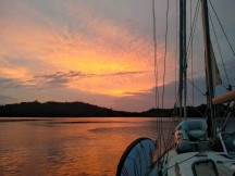 Sunrise in Boca Chica